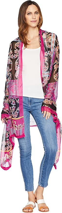 Batik Patchwork Oversized Wrap