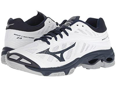 Mizuno Wave Lightning Z4 (White/Navy) Women