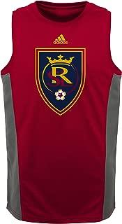 MLS by Outerstuff Boys' Fan Gear Tank, Victory Red, Kids Medium(5-6)