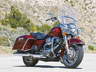 Harley Davidson Road King clear OEM height windshield 19