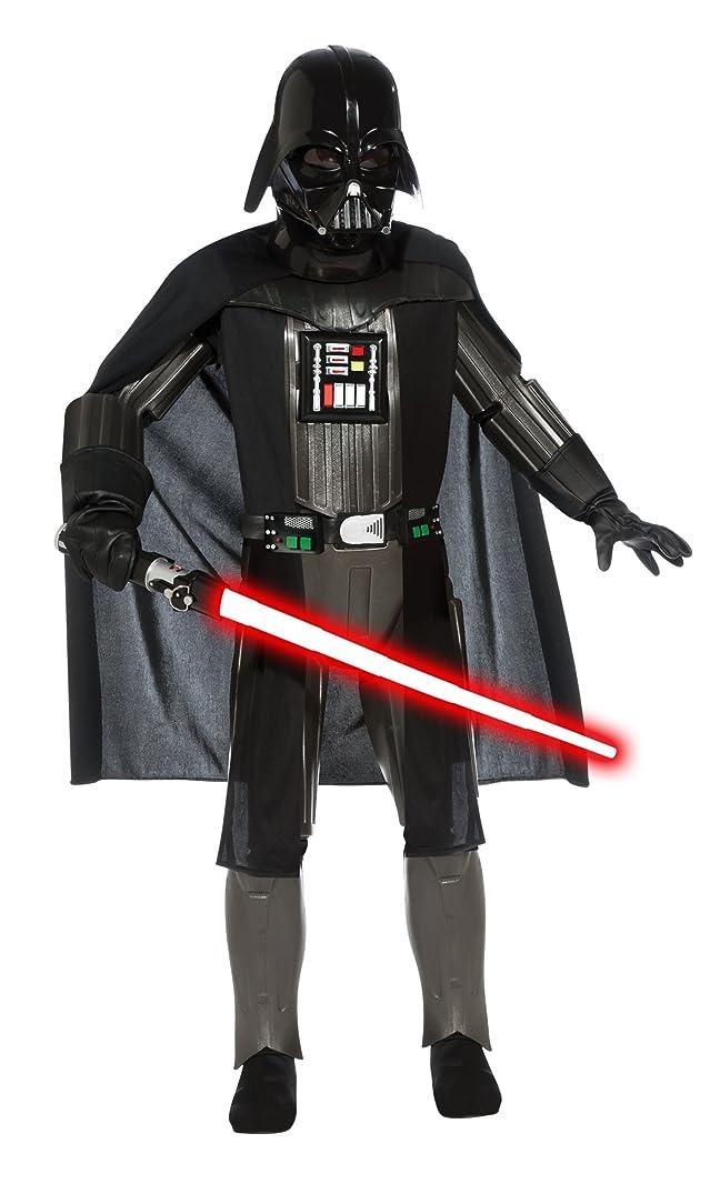 バーガーアニメーション保守可能Star Wars Darth Vader Elite Child Costume スターウォーズダース?ベイダーエリートチャイルドコスチューム?ハロウィン?サイズ:Small (4-6)