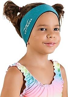 AqtivAqua Swim Headband - Ear Protection Band for Adults and Kids // Keep Earplugs in