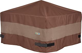 Duck Covers Ultimate Square Fire Pit Cover, 50-Inch