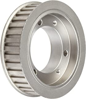 1//2 Pitch 0.75 and 1 Wide Browning 16HB100 Steel Stock Minimum Bore Gearbelt Pulleys for H075 and H100 Belts