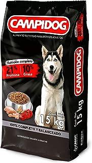 CAMPI CAMPIDOG Fortachon Croquetas Comida Nutritiva para Perros Adultos (Bulto) 15 kg