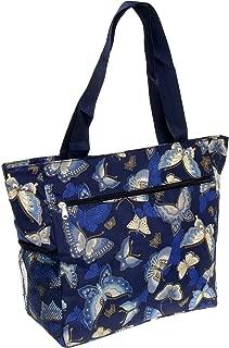 Womens Large Print Beach Tote Shopper Weekender School Gym Travel Bag