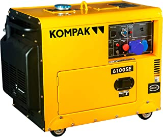KOMPAK Generador de corriente Diesel 6.9 kVA DK6100SE-3 400 V