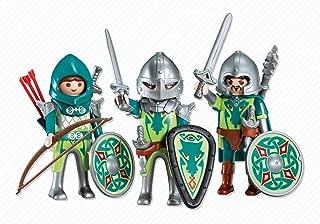 Playmobil 3 Green Dragon Knights