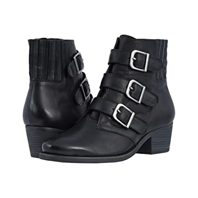 Walking Cradles Graham (Black Rustic Leather) Women