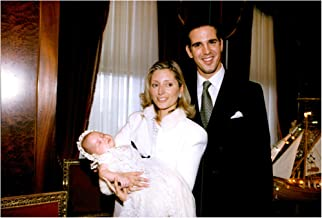Vintage photo of Princess Marie-Chantal, Little Princess Maria Olympia and Prince Pavlos of Greece