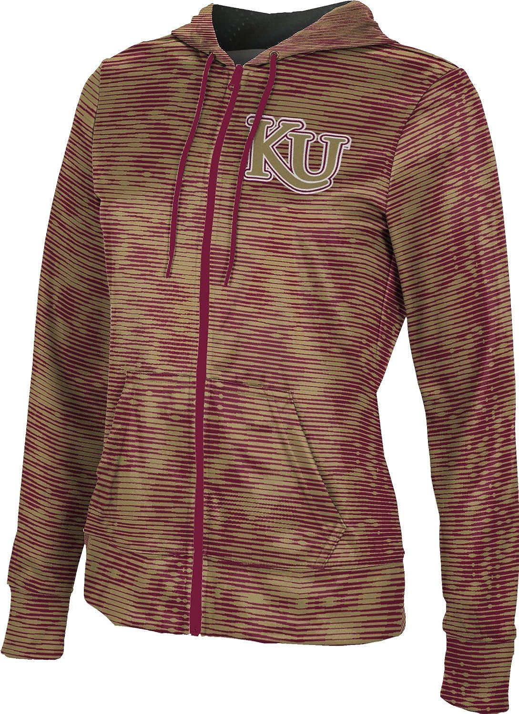ProSphere Kutztown University Girls' Zipper Hoodie, School Spirit Sweatshirt (Velocity)