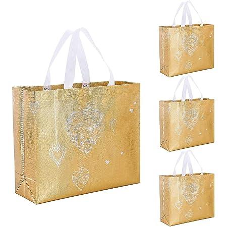 Glitter printed canvas bag silver tote bag shopping bag fashion shoulder bag trendy bag colored totes unique design