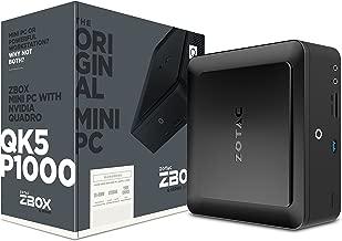 ZOTAC ZBOX-QK5P1000-U Q-Series Lite Workstation Mini PC NVIDIA Quadro P1000 Intel Core i5-7200U No Ram/Drive/OS Barebone