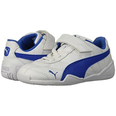 Puma Kids Tune Cat 3 V (Toddler) (Puma White/Strong Blue) Boys Shoes