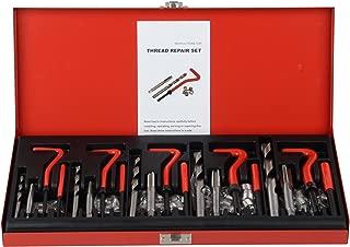 DA YUAN 131Pc Thread Repair Kit, HSS Drill Helicoil Repair Kit Metric M5 M6 M8 M10 M12