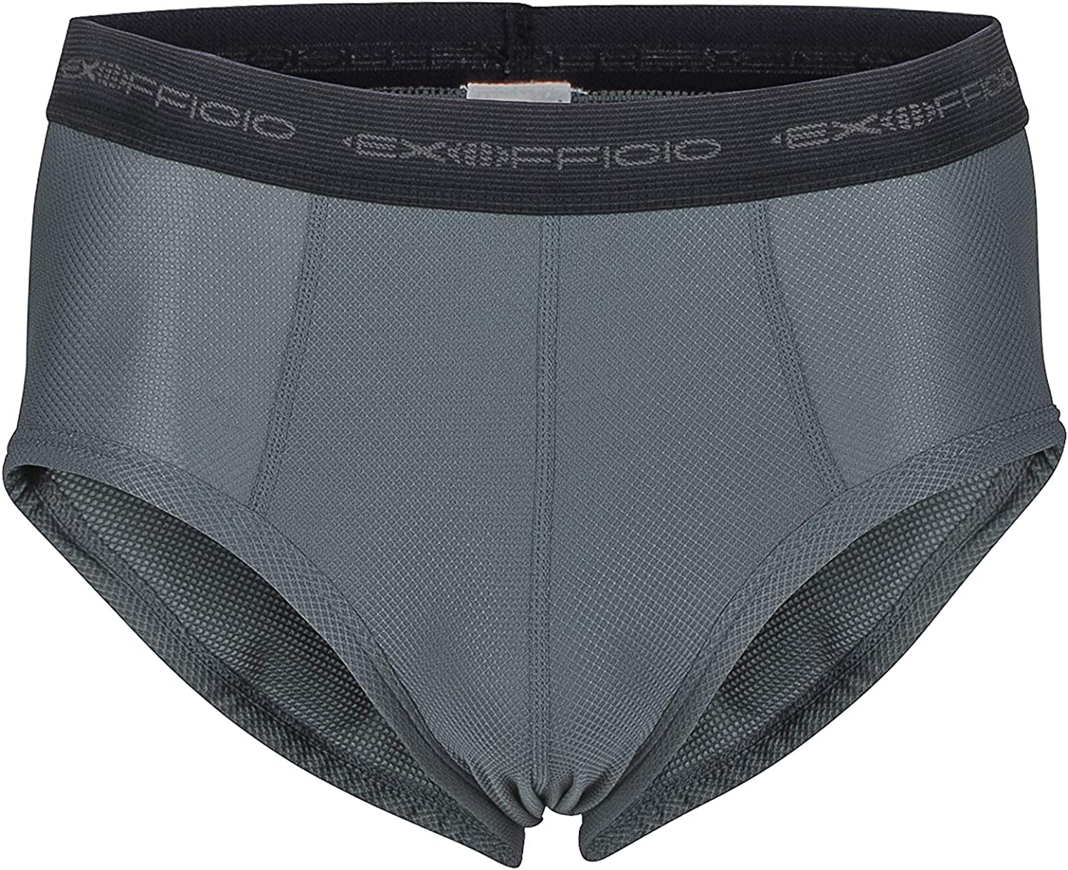 ExOfficio Men's Give-N-Go Flyless Brief, Charcoal, X-Large