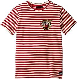 Red/Oatmeal Stripe