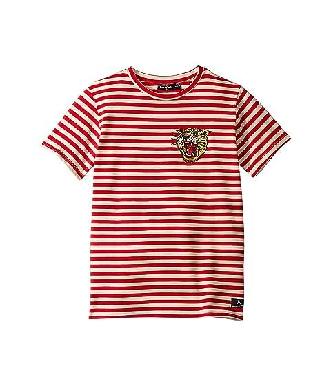 Rock Your Baby Tiger Stripe Short Sleeve T-Shirt (Toddler/Little Kids/Big Kids)