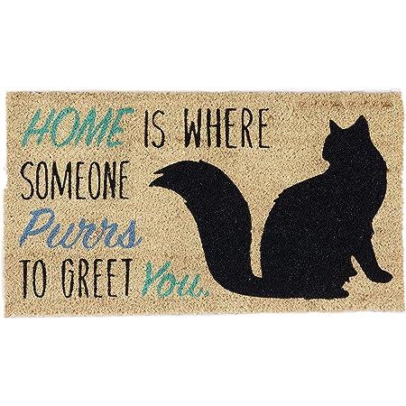 Bathing Cat Dog Non-slip Door Floor Bath Mat Entrance Doormat Welcome Rug Carpet