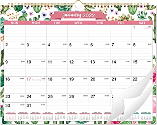 """2020 Calendar - 2020 Monthly Wall Calendar, 15"""" x 11.5"""", Two-Wire Binding, Ruled Blocks with Julian Dates, Perfect for Pla..."""