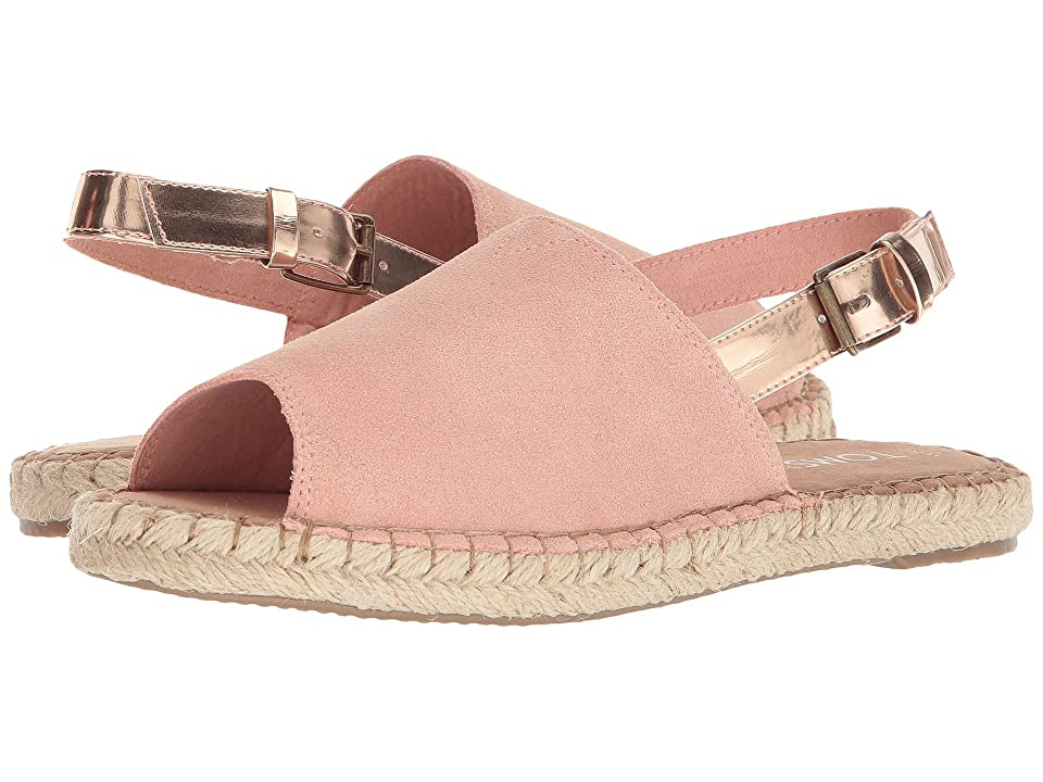 TOMS Clara (Bloom Suede/Rose Gold Specchio) Women