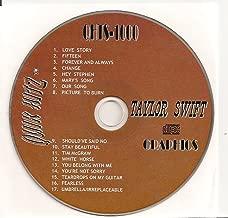 All Hits of TAYLOR SWIFT Quik Hitz Karaoke CDG QHTS-1000