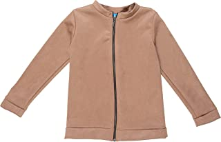 PLAYROOM - Unisex Ultra Soft Lightweight Faux Suede Zip-up Jacket