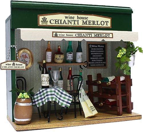 Shop-Kit Winehouse 8789 von Billy handgemachte Puppenhaus-Kit Stra ecke (Japan-Import)