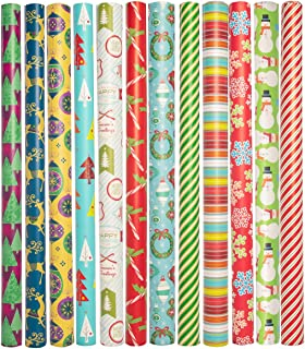 Best retro style christmas wrapping paper Reviews