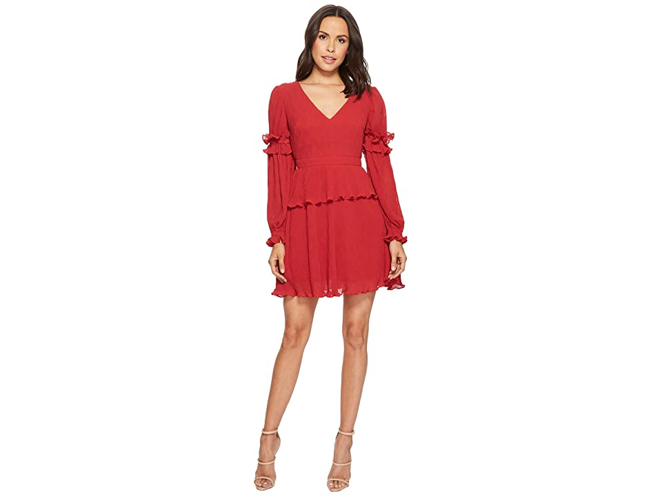 KEEPSAKE THE LABEL Skylines Mini Dress (Scarlet Red) Women
