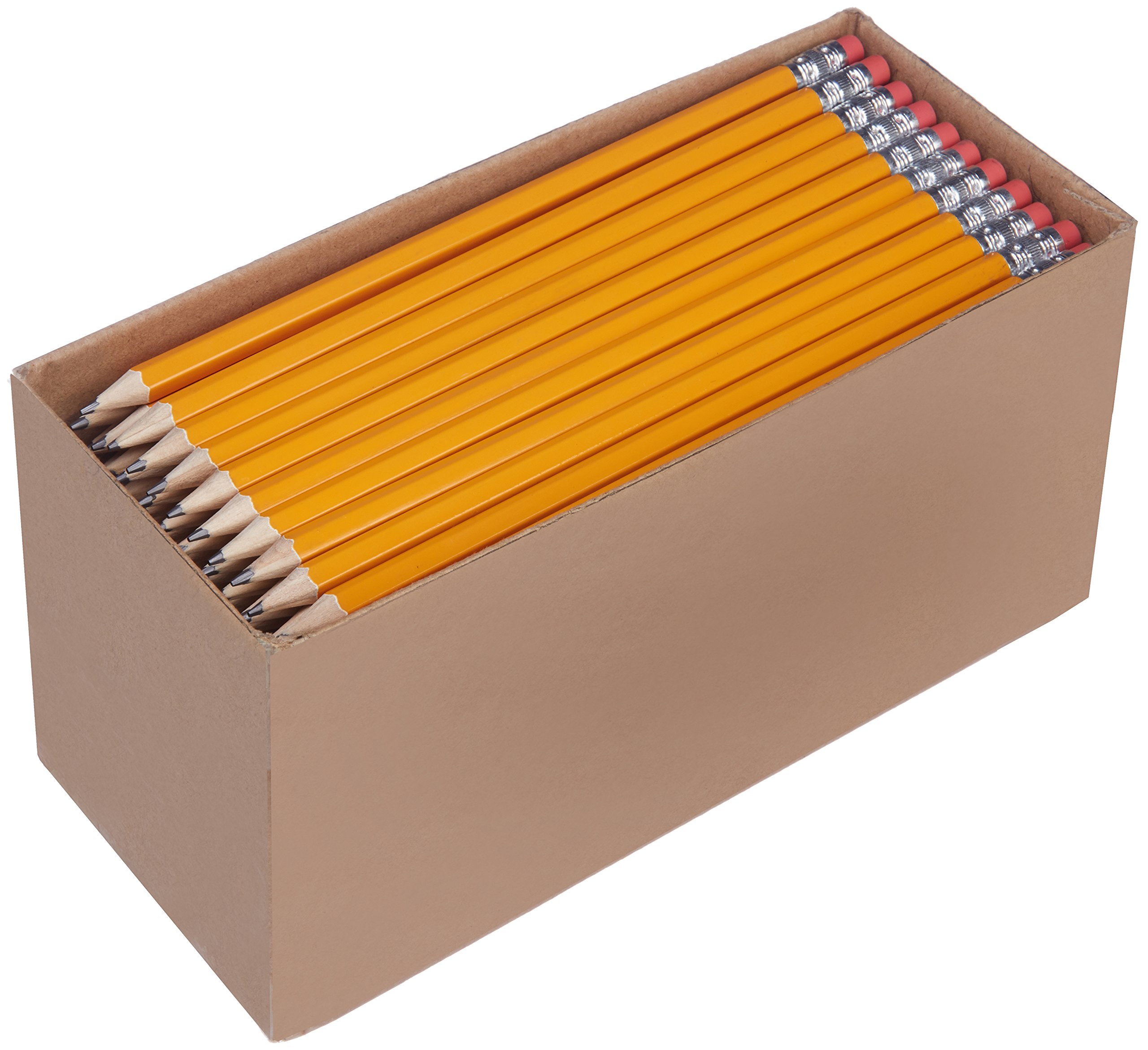 티콘데로가 HB 연필 30개, 150개 세트 Ticonderoga AmazonBasics Pre-sharpened Wood Cased #2 HB Pencils, 30, 150 Pack