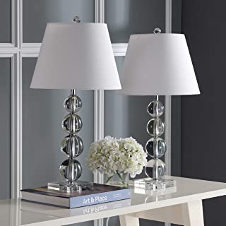 Safavieh Lighting Collection Millie Crystal Ball 26.5-inch Table Lamp (Set of 2)