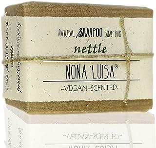 Saponetta naturale ortica   Shampoo Bar per capelli   Sapone solido fatto a mano   Sapone naturale   100% naturale   Ingre...