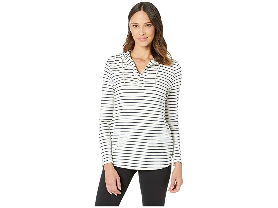Carve Designs Delia Hoodie (Foam Stripe) Women