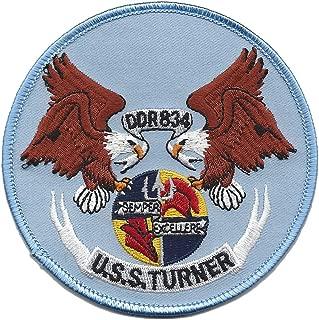 DDR-834 USS Turner Destroyer Radar Picket Ship Patch Semper Exceller