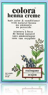 Colora Henna Creme, Mahogany, 2 Ounce