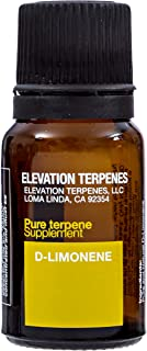 Elevation Terpenes: D-Limonene: Food Grade Natural Terpene 10ML Made in The USA