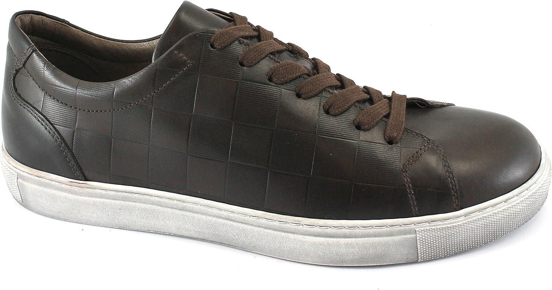 svart Gardens 05370 Bspringaaa kaff skor Men Sneeaker Sports Leather Leather Leather Laces  het försäljning