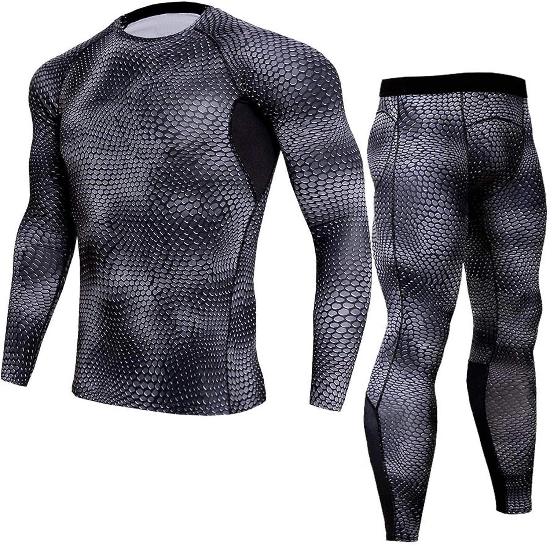 Mens Thermal Underwear Set Ultra Soft Johns Set Fleece Lined Warm Base Layer Thermals 2 Sets for Men