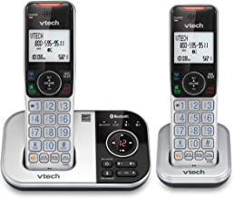 VTECH VS112-2 DECT 6.0 Bluetooth 2 Handset Cordless Phone for Home with Answering Machine, Call Blocking, Caller ID, Inter... photo