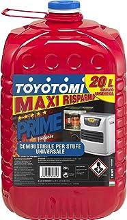 Toyotomi PRIME20L Primas Combustible Para Estufa Zibro, 20 Litros, Aromáticos <0,00080%