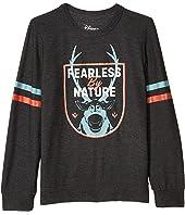 "Disney's Frozen ""Fearless by Nature"" Cozy Knit Pullover Sweater (Little Kids/Big Kids)"
