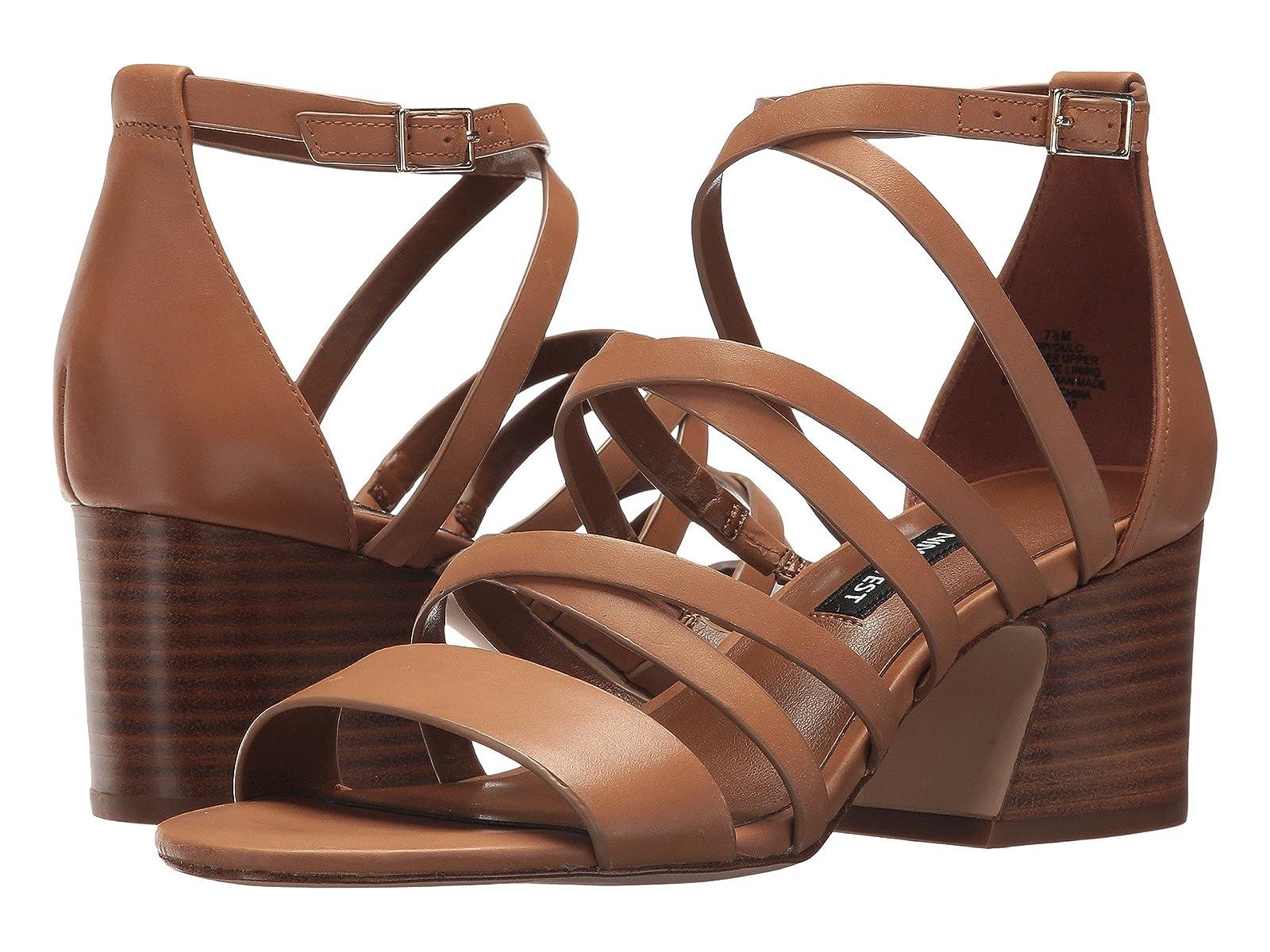 Nine West Youlo Strappy Block Heel SandalAtmospheric grades have affordable shoes