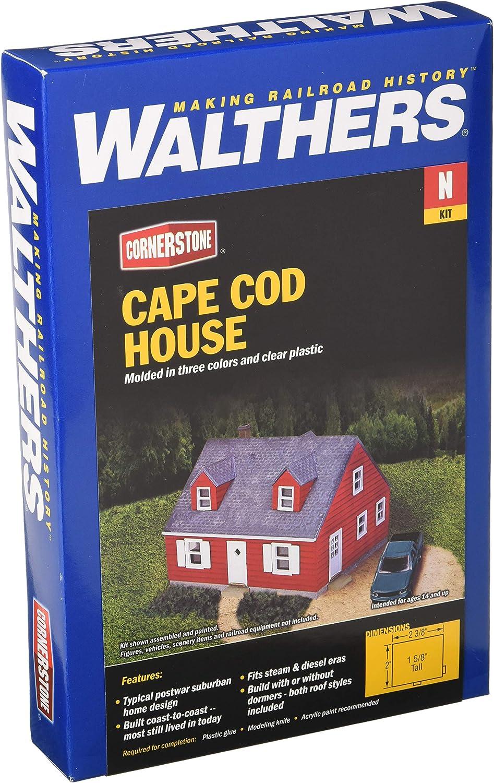Walthers Cornerstone 933-3839 Einfamilienhaus B01624YL6G Schöne Farbe  | Haltbar