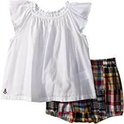 Top & Madras Bloomer Set (Infant)