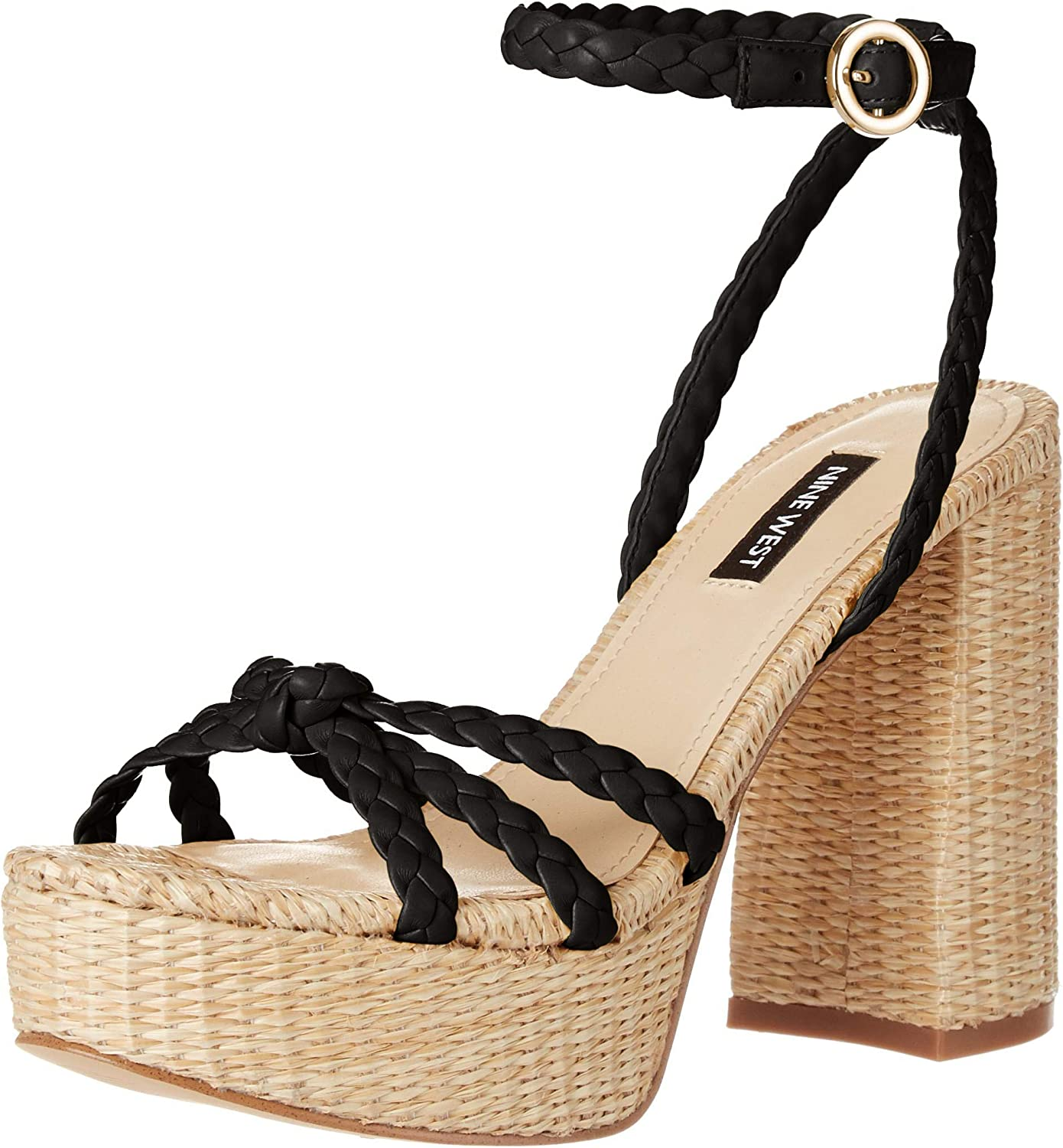 NINE WEST Max Free shipping / New 61% OFF Women's Sandal Wnrylin Heeled