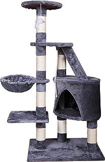 MC Star Árbol para Gato torre de escalada 120cm Gris