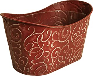 Wald Imports Burgundy Metal Double 6
