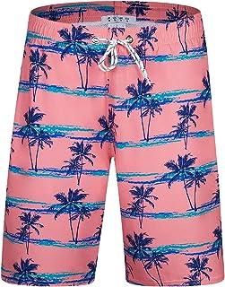 Swim Shorts for Men Lightweight Mens Swimwear Summer Swimming Trunks Casual Board Shorts