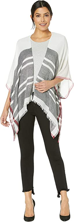 Graphic Stripe Shawl